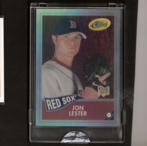 JON LESTER - 2006 eTopps - TRUE ROOKIE CARD - Cubs, Red Sox