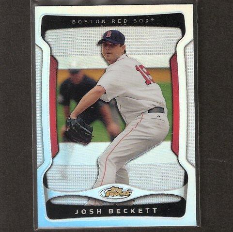 JOSH BECKETT - 2009 Topps  Finest REFRACTOR - Boston Red Sox