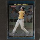 VICTOR MARTINEZ - 2002 Bowman Draft CHROME Rookie - Red Sox, Indians & Detroit Tigers