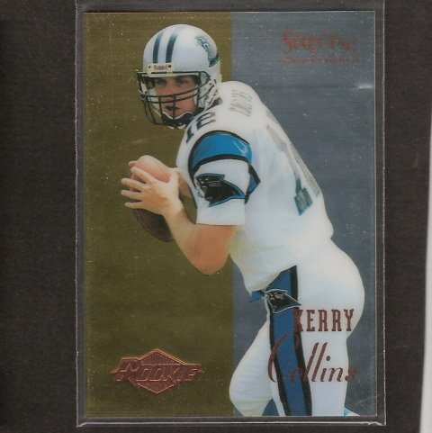 KERRY COLLINS - 1995 SELECT CERTIFIED Rookie Card - Titans, Panthers & Penn State