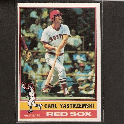 CARL YASTRZEMSKI - 1976 O-Pee-Chee - OPC - Boston Red Sox
