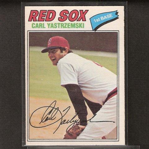 CARL YASTRZEMSKI - 1977 O-Pee-Chee - OPC - Boston Red Sox