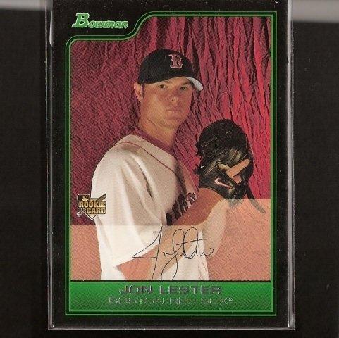 JON LESTER - 2006 Bowman ROOKIE - Cubs, Red Sox