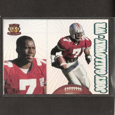 JOEY GALLOWAY - Pacific Collection ROOKIE CARD - Seahawks & Ohio State Buckeyes