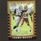 CHAMP BAILEY - 2000 Bowman Chrome REFRACTOR - Denver Broncos
