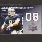 TROY AIKMAN - 2008 Topps Dynasties #DYN-TA - Dallas Cowboys