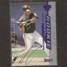 JOSE GUILLEN - 1997 Select AUTOGRAPH Rookie - Kansas City Royals