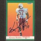 KENNY WALKER - Broncos & Nebraska Cornhuskers AUTOGRAPH