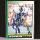 MIKE STONEBREAKER - Notre Dame Fighting Irish - 1991 Score Rookie AUTOGRAPH