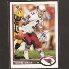 TIM ROSENBACH - Arizona Cardinals & Washington State Cougars - AUTOGRAPH