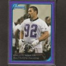 HALOTI NGATA 2006 Bowman BLUE ROOKIE CARD - Baltimore Ravens