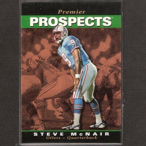 STEVE McNAIR - 1995 Upper Deck SP Rookie Card - Oilers & Titans