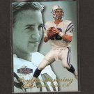 PEYTON MANNING - 1998 Flair Showcase Rookie Card - Colts & Tennessee Volunteers