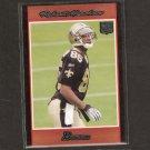 ROBERT MEACHEM 2007 Bowman ORANGE - New Orleans Saints