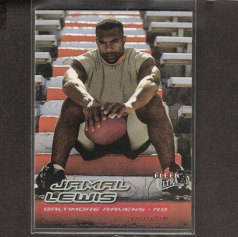 JAMAL LEWIS - 1999 Fleer Ultra SP Rookie - Browns, Ravens & Tennessee Volunteers