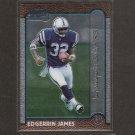 EDGERRIN JAMES - 1999 Bowman Chrome Rookie - Colts & Miami Hurricanes