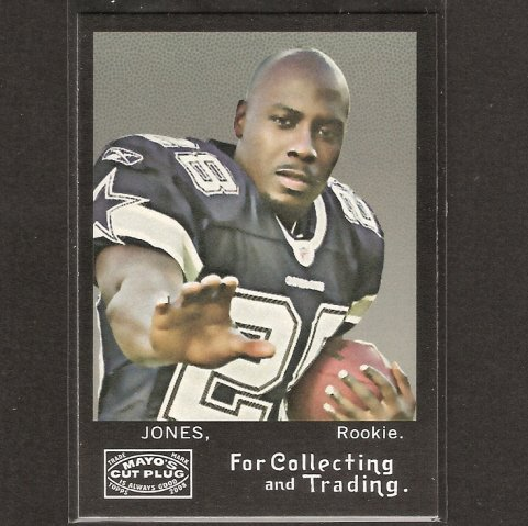 FELIX JONES - 2008 Topps Mayo - Cowboys & Arkansas Razorbacks