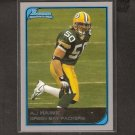 AJ HAWK 2006 Bowman ROOKIE - Packers & Ohio State Buckeyes