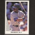 KEN GRIFFEY, JR. - 1990 Leaf Baseball - 2nd YEAR - Seattle Mariners