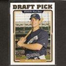 RYAN BRAUN - 2005 Topps Traded ROOKIE - Milwaukee Brewers