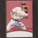 MIGUEL TEJADA - 1997 Donruss Signature AUTOGRAPH RC - Baltimore Orioles