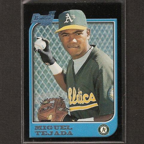 MIGUEL TEJADA - 1997 Bowman ROOKIE CARD - Houston Astros