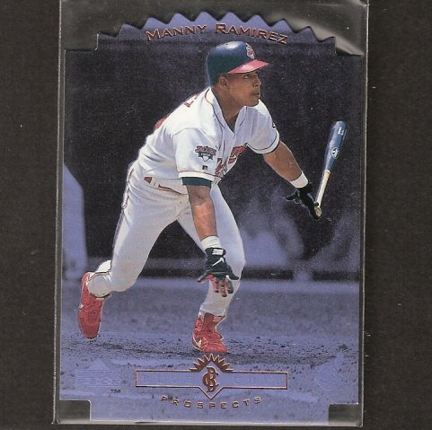 MANNY RAMIREZ - 1996 Upper Deck Blue Chip Prospects - Red Sox & Dodgers