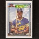 MANNY RAMIREZ - 1992 Topps GOLD ROOKIE CARD - LA Dodgers