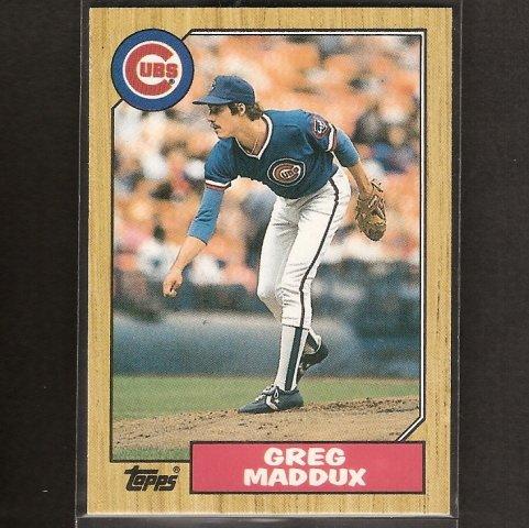 GREG MADDUX - 1987 Topps Traded ROOKIE CARD - Atlanta Braves
