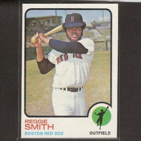 REGGIE SMITH - 1973 Topps - RED SOX
