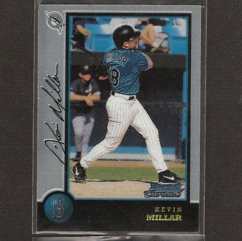 KEVIN MILLAR - 1998 Bowman Chrome ROOKIE CARD - Toronto Blue Jays