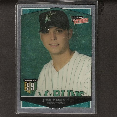 JOSH BECKETT - 1999 Upper Deck Ultimate Victory ROOKIE - Red Sox