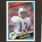 DAN MARINO - 1984 Topps ROOKIE - Miami Dolphins, Pittsburgh Panthers