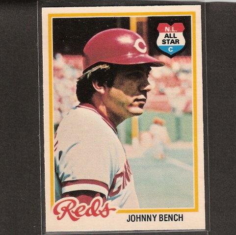 JOHNNY BENCH - 1978 O-Pee-Chee NMint - Cincinnati Reds