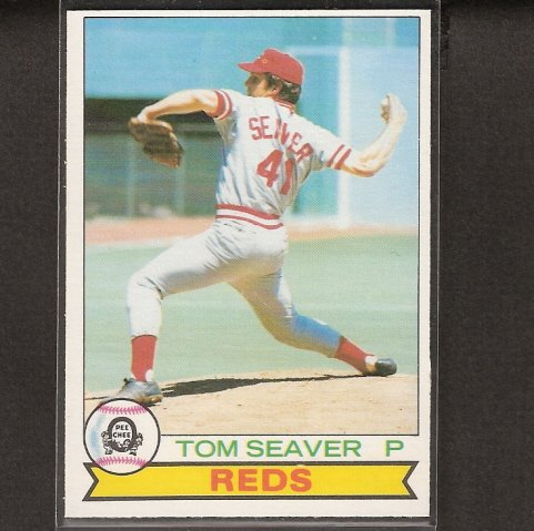 TOM SEAVER - 1979 O-Pee-Chee NM-Mint - Cincinnati Reds, NY Mets