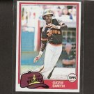 OZZIE SMITH - 1979 Topps NM - San Diego Padres, St. Louis Cardinals