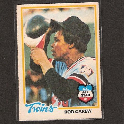 ROD CAREW - 1978 O-Pee-Chee NMint - Minnesota Twins, Angels