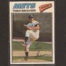 TOM SEAVER - 1977 Topps CLOTH STICKER - NM - New York Mets, Reds