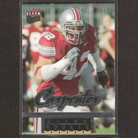 BOBBY CARPENTER - 2006 Ultra Rookie Short Print - Rams, Cowboys & Ohio State Buckeyes