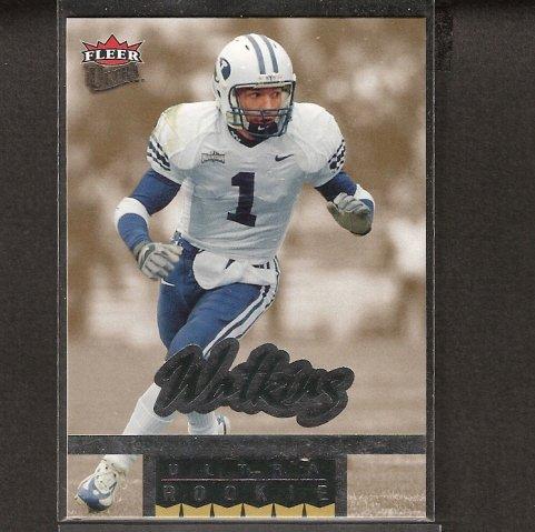 TODD WATKINS - 2006 Ultra Rookie Short Print - Oakland Raiders & Brigham Young