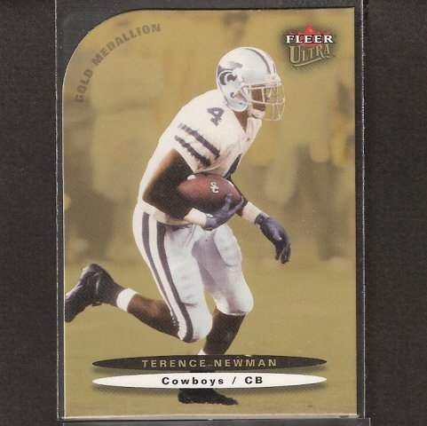 TERENCE NEWMAN - 2003 Ultra Rookie Short Print - Dallas Cowboys & Kansas State