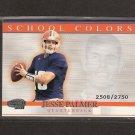 JESSE PALMER - 2001 Pacific Invincible School Colors- NY Giants & Florida Gators