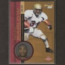 KEVAN BARLOW - 2001 Pacific Invincible ROOKIE - 49ers, Jets, Steelers & Pitt Panthers