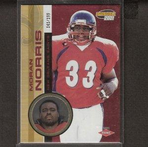 ADAM ARCHULETA - 2001 Pacific Invincible ROOKIE - Rams, Redskins & Arizona State
