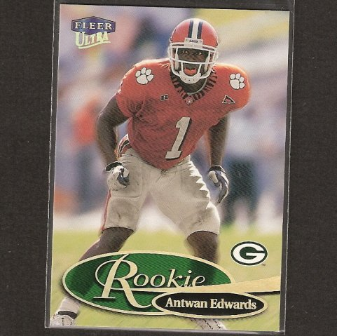ANTWAN EDWARDS - 1999 Fleer Ultra ROOKIE - Clemson Tigers