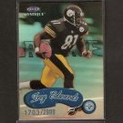 TROY EDWARDS - 1999 Fleer Mystique ROOKIE Short Print - Steelers & Louisiana Tech