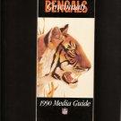 1990 Cincinnati BENGALS MEDIA GUIDE