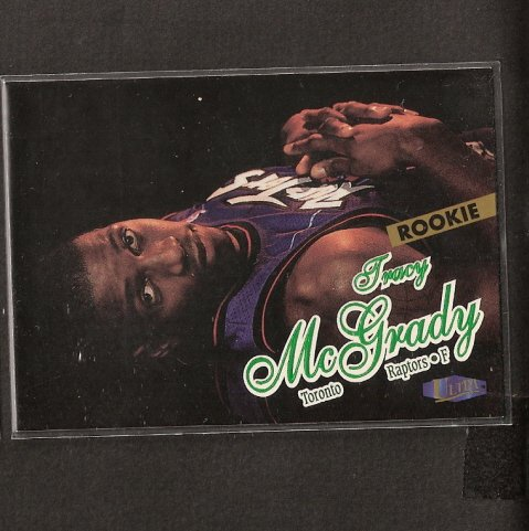 TRACY McGRADY - 1997-98 Ultra Short Print ROOKIE - Houston Rockets
