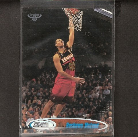 ROSHOWN McLEOD - 1998-99 Stadium Club ROOKIE - Duke University