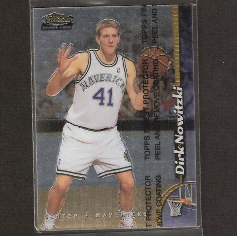 DIRK NOWITZKI - 1997-98 Finest ROOKIE - Dallas Mavericks